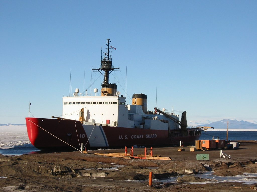 Polar Star in McMurdo (photo by Leah Houghton)